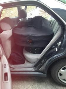 my car is packed